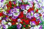 Big wonderful flowers bouquet, фото № 13072092, снято 24 марта 2014 г. (c) Юрий Брыкайло / Фотобанк Лори