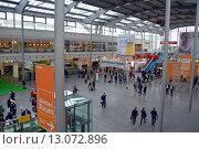 Купить «Выставочный центр Messe Munchen (New Munich Trade Fair Centre) - Мюнхен, Германия», эксклюзивное фото № 13072896, снято 18 сентября 2013 г. (c) Александр Замараев / Фотобанк Лори