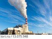 Тепловая электрическая станция.ТЭС (2014 год). Редакционное фото, фотограф Василий Бронников / Фотобанк Лори