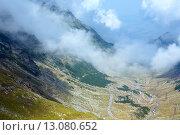 Купить «Summer mountain view (Romania)», фото № 13080652, снято 17 августа 2013 г. (c) Юрий Брыкайло / Фотобанк Лори
