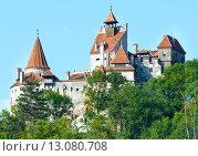 Купить «Bran Castle (Romania)», фото № 13080708, снято 17 августа 2013 г. (c) Юрий Брыкайло / Фотобанк Лори