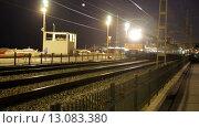 Купить «Rodalies tren in motion near Barcelona.», видеоролик № 13083380, снято 5 мая 2015 г. (c) Яков Филимонов / Фотобанк Лори