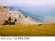 mountains of Sierra de Andia. Navarre, Spain (2015 год). Стоковое фото, фотограф Яков Филимонов / Фотобанк Лори