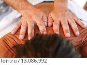 Купить «Massage therapist in action», фото № 13086992, снято 5 апреля 2020 г. (c) PantherMedia / Фотобанк Лори