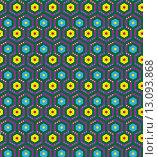 Купить «Pattern seamless gexagonal», иллюстрация № 13093868 (c) PantherMedia / Фотобанк Лори