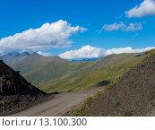 Горный перевал на Кавказе. Стоковое фото, фотограф Инна Маслова / Фотобанк Лори