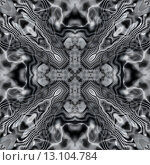 Купить «art ornamental vintage pattern, monochrome background in white, grey and black colors», фото № 13104784, снято 26 сентября 2018 г. (c) Ingram Publishing / Фотобанк Лори