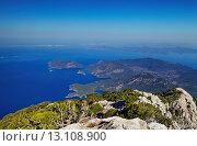 Купить «Oludeniz coast, Fethiye, Turkey», фото № 13108900, снято 14 июня 2014 г. (c) Ingram Publishing / Фотобанк Лори