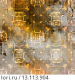 Купить «art abstract acrylic and pencil light colorful background with damask pattern in grey, yellow and brown colors», фото № 13113904, снято 23 октября 2019 г. (c) Ingram Publishing / Фотобанк Лори
