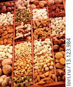 Купить «Nut Selection - Non Exclusive», фото № 13123984, снято 8 июля 2020 г. (c) age Fotostock / Фотобанк Лори