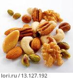 Купить «Mixed Nuts», фото № 13127192, снято 8 июля 2020 г. (c) age Fotostock / Фотобанк Лори