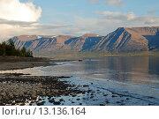 Купить «Плато Путорана, вечер на озере Лама», фото № 13136164, снято 19 августа 2011 г. (c) Сергей Дрозд / Фотобанк Лори