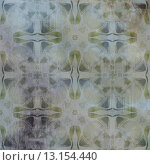art abstract acrylic and pencil light colorful background with damask pattern in grey, beige and blue colors. Стоковое фото, агентство Ingram Publishing / Фотобанк Лори