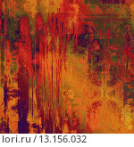art abstract colorful acrylic background in red, orange and green colors. Стоковое фото, агентство Ingram Publishing / Фотобанк Лори