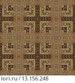 Купить «art vintage damask seamless pattern background in brown colors», фото № 13156248, снято 22 марта 2019 г. (c) Ingram Publishing / Фотобанк Лори