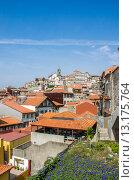 Купить «View of Porto city on summer day», фото № 13175764, снято 8 октября 2012 г. (c) Elnur / Фотобанк Лори