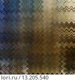Купить «art abstract colorful zigzag geometric pattern background in brown, olive and blue colors», фото № 13205540, снято 17 августа 2018 г. (c) Ingram Publishing / Фотобанк Лори
