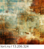 Купить «art abstract acrylic and pencil colorful background with damask pattern in beige, orange, red, white, green and brown colors», фото № 13206324, снято 24 февраля 2019 г. (c) Ingram Publishing / Фотобанк Лори