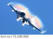 Су-34, пилотаж (2015 год). Редакционное фото, фотограф Артём Аникеев / Фотобанк Лори