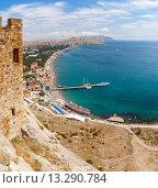 Купить «Крым, Судак», фото № 13290784, снято 11 августа 2015 г. (c) Дмитрий Тищенко / Фотобанк Лори