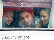 Купить «Russia, Trans-Siberian train in Siberia, passengers traveling up to Vladivostok», фото № 13301644, снято 23 октября 2018 г. (c) age Fotostock / Фотобанк Лори