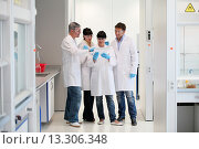 Купить «Shinthesis Lab, Research Laboratory, R&D+i, Design and synthesis of new chemical entities with therapeutic applications in oncology, Discovery and development...», фото № 13306348, снято 15 июля 2020 г. (c) age Fotostock / Фотобанк Лори