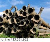 Pipeline Plumbing provides water for irrigation. Стоковое фото, фотограф Jesús Tarruella / age Fotostock / Фотобанк Лори