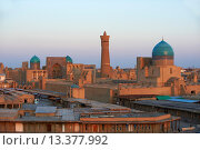 Купить «Uzbekistan, Bukhara, Unesco world heritage, Kalon mosque and city», фото № 13377992, снято 23 февраля 2019 г. (c) age Fotostock / Фотобанк Лори