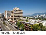 Купить «BROADWAY VANCOUVER BRITISH COLUMBIA CANADA», фото № 13428296, снято 17 января 2019 г. (c) age Fotostock / Фотобанк Лори