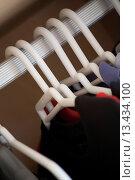 White hangers. Стоковое фото, фотограф Easton Manley / age Fotostock / Фотобанк Лори