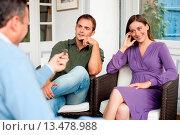 Купить «Dialog», фото № 13478988, снято 16 октября 2018 г. (c) age Fotostock / Фотобанк Лори