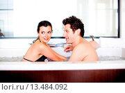 Купить «Couple in spa.», фото № 13484092, снято 19 апреля 2019 г. (c) age Fotostock / Фотобанк Лори