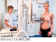 Breast cancer screening, фото № 13489240, снято 22 февраля 2017 г. (c) age Fotostock / Фотобанк Лори
