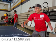 Купить «New Orleans, Louisiana - Senior citizens participate in the VIET Senior Olympics, a day of both active and sedentary games  The event was organized by...», фото № 13508928, снято 24 апреля 2019 г. (c) age Fotostock / Фотобанк Лори