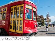 Купить «New Orleans tram on the Canal Street Line, New Orleans, state of Louisiana, USA, North America», фото № 13573128, снято 19 ноября 2019 г. (c) age Fotostock / Фотобанк Лори