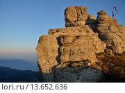Крым гора Демерджи (2015 год). Стоковое фото, фотограф Anton  Ryabtsev / Фотобанк Лори
