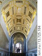 Купить «Grand Stairs of Palazzo Ducale in Venice, Italy», фото № 13725184, снято 25 марта 2019 г. (c) age Fotostock / Фотобанк Лори