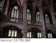 Купить «Temple Saint-Etienne on Place de la Reunion, Mulhouse, Haut-Rhin, Alsace, France», фото № 13735360, снято 23 января 2020 г. (c) age Fotostock / Фотобанк Лори