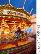 Купить «Goose Fair, Nottingham, Nottinghamshire, England, United Kingdom, Europe», фото № 13759492, снято 24 января 2019 г. (c) age Fotostock / Фотобанк Лори
