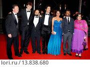 Купить «Nawazuddin Siddiqui, Tannishtha Chatterjee, Amit Kumar, Vijay Verma - Cannes/France/France - 66TH CANNES FILM FESTIVAL - RED CARPET MONSOON SHOOTOUT», фото № 13838680, снято 18 мая 2013 г. (c) age Fotostock / Фотобанк Лори