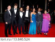 Купить «Nawazuddin Siddiqui, Tannishtha Chatterjee, Amit Kumar, Vijay Verma - Cannes/France/France - 66TH CANNES FILM FESTIVAL - RED CARPET MONSOON SHOOTOUT», фото № 13840524, снято 18 мая 2013 г. (c) age Fotostock / Фотобанк Лори