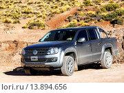 Купить «Volkswagen Amarok», фото № 13894656, снято 16 ноября 2015 г. (c) Art Konovalov / Фотобанк Лори