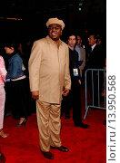 Купить «Bernie Mac - Hollywood/California/United States - GUESS WHO FILM PREMIERE», фото № 13950568, снято 13 марта 2005 г. (c) age Fotostock / Фотобанк Лори