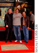 Купить «Christopher Walken, Quentin Tarantino & Kevin Pollak Christopher Walken to be Honored with Legendary Hand & Footprints Ceremony at Graumanãs Chinese Theatre...», фото № 13959336, снято 25 июля 2013 г. (c) age Fotostock / Фотобанк Лори