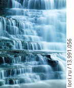 Купить «Closeup of beautiful cascade waterfall details. Albion Falls, Hamilton, Ontario, Canada.», фото № 13991056, снято 20 июня 2019 г. (c) age Fotostock / Фотобанк Лори