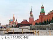 Красная площадь. Москва, эксклюзивное фото № 14000448, снято 27 ноября 2015 г. (c) Юрий Морозов / Фотобанк Лори