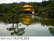 Купить «Kinkaku-Ji (Golden Pavilion) Buddhist Temple, UNESCO World Heritage Site, Kyoto, Japan, Asia», фото № 14016264, снято 18 октября 2019 г. (c) age Fotostock / Фотобанк Лори