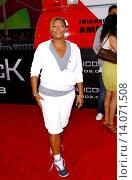 Queen Latifah - Hollywood/California/United States - HANCOCK FILM PREMIERE (2008 год). Редакционное фото, фотограф visual/pictureperfect / age Fotostock / Фотобанк Лори
