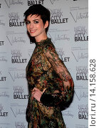 Купить «Anne Hathaway - New York/New York/USA - NEW YORK CITY BALLET CELEBRATES LEGENDARY FASHION DESIGNER VALENTINO», фото № 14158628, снято 20 сентября 2012 г. (c) age Fotostock / Фотобанк Лори