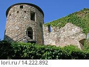 Купить «Torre de la Portella, tower defensively, Baga, Catalonia, Spain», фото № 14222892, снято 18 марта 2018 г. (c) age Fotostock / Фотобанк Лори